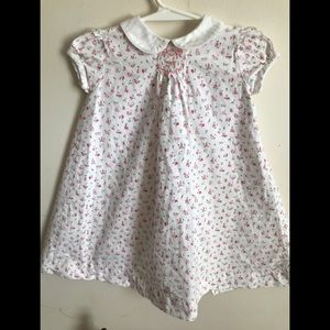 Rare Vintage 1970's Custom Hand Smocked Dress